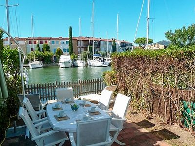Photo for Three bedroom house in Port Grimaud Sud with a 12m mooring, close to the beach.
