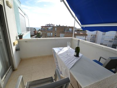 Photo for Layes Cambrils:Air conditioned apartment-2bedrooms-Free wifi & linen-150m from the beach,near centre