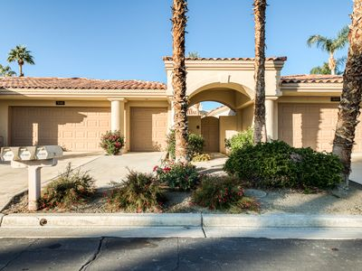 Photo for Charming golf-front home w/ shared pools, pool spas, tennis & mountain views