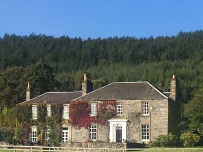 Photo for Beautiful listed Georgian Mansion Boutique Hotel in the Highlands of Scotland.