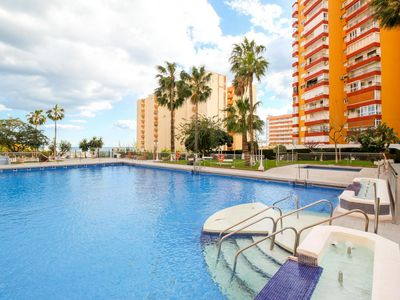 Photo for Benalmadena Costa II - First Line Beach 1BR Apartment