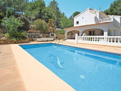 Photo for Vacation home in Benissa, Costa Blanca - 9 persons, 4 bedrooms