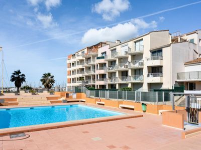 Photo for Cozy studio, central, with balcony and pool - Maeva Individual - Studio 4 people Confort