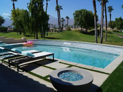 Photo for Luxury PGA West Home with NEW SALT WATER POOL/SPA, Firepit, BBQ & Putting Green!