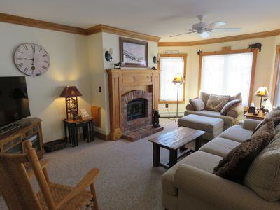 Great Family Getaway! Ski-In Ski-Out Luxury Condo at Jay Peak Resort.
