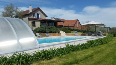 Photo for House in Fresselines with private pool