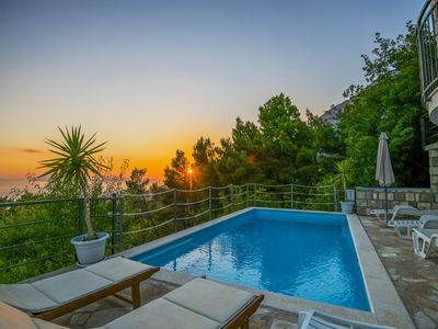 Photo for cttu164/ Holiday house with private pool in old village of Tucepi - Makarska, up to 9 persons