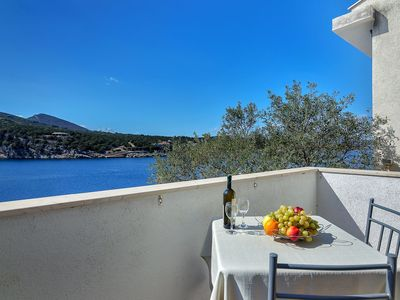Photo for Apartment 7922  SA1(2+1)  - Cove Pokrivenik, Island Hvar, Croatia