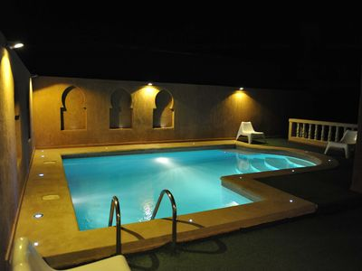 Photo for Apartment 65m² in a riad, Wifi + Pool