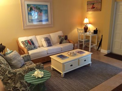 Photo for Living the Dream on Lido 1, cute condo one block to the beach