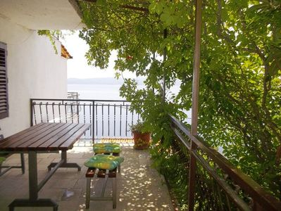 Photo for Apartment 2S  A4(4+1) D  - Pisak, Riviera Omis, Croatia