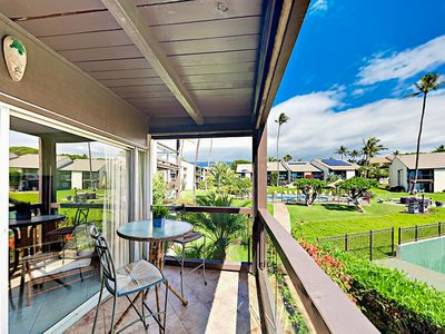 Photo for Kamaole Beach 1BR w/ Ocean View & A/C - 2 Pools & Tennis, Walk to Dining