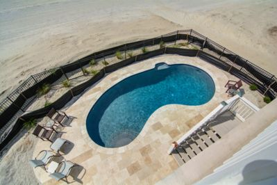 Only Private Oceanfront Pool in Wild Dunes