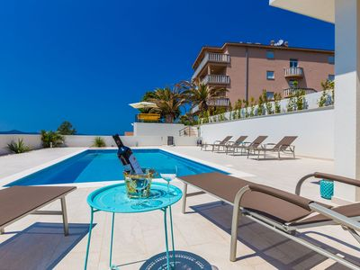 Photo for Deluxe sea view 2 in Villa Ria****with pool