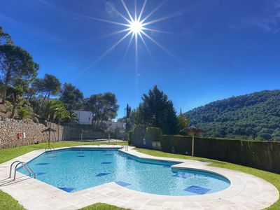Photo for SES BRISES BLAU -apartment with shared  swimming pool-Tamariu-Costa Brava