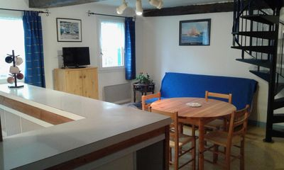 Photo for Apartment for rent in Trèguier, city of character close to the sea, for 4 people