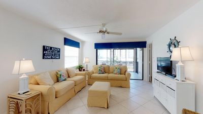 Photo for Seaview #304 - End Unit Steps from Beach Access w/ No Crazy Beach Prices!!!