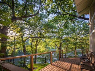 Photo for Star of Texas and Cottage with Loft- Guadalupe Riverfront, Sleeps 16!