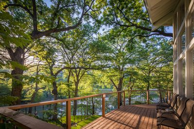 STAR OF TEXAS AND COTTAGE COMBO - a SkyRun Texas Property - Welcome to the Guadalupe River in New Braunfels
