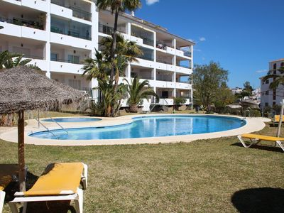 Photo for Luxurious Garden  Apartment in Gran Calahonda