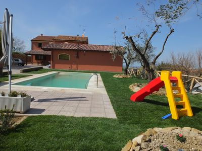 Photo for Farmhouse with swimming pool, for families who love relaxation and tranquility