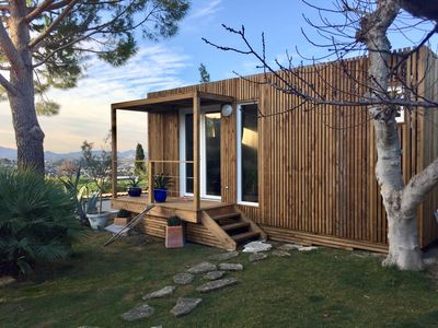 """Photo for New """"Greenkub"""" STUDIO with MAGNIFICENT VIEW on ALLAUCH"""