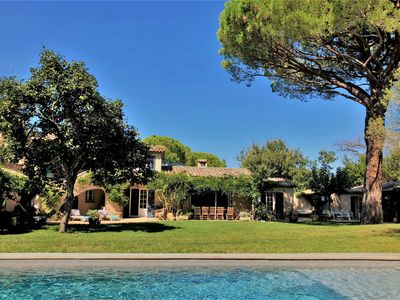 Photo for SAINT TROPEZ - Villa 6 bedrooms on 2. 200m ² of land 7 minutes walk from the village