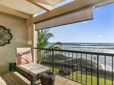 Photo for Waterfront retreat w/ a furnished balcony, incredible view, & a shared pool