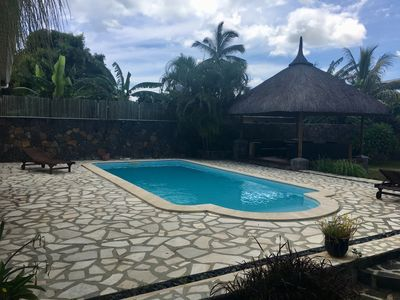 Photo for TROPICAL VILLA 5 MINS FROM THE BEACH