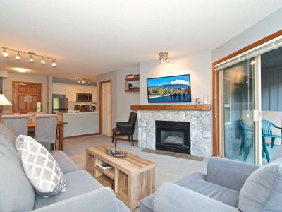 Ski in/ski out property with mountain views! Professionally Managed with Worry Free Cancellation