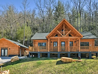 Photo for 3BR Cabin Vacation Rental in Marion, North Carolina