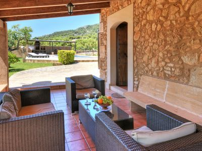 Photo for Rustic finca with fantastic pool, very quiet location, beautiful garden