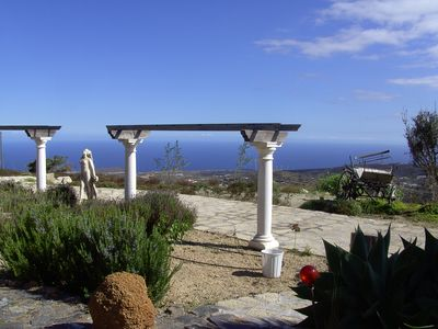 Photo for Ideal property with a spectacular sea view, an apartment with a pool