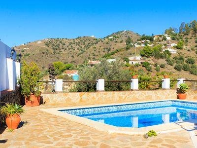 Photo for This 3-bedroom villa for up to 6 guests is located in Nerja and has a private swimming pool and Wi-F
