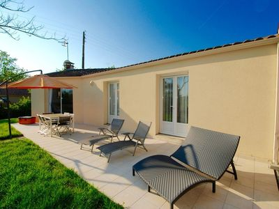 Photo for Maison George - 3 bedroom house with gardens in Curzon, Vendee, France