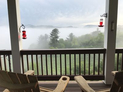 Photo for Mountain Getaway in Todd NC with beautiful breathtaking views