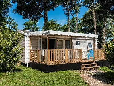 Photo for Camping Domaine de Mesqueau *** - Premium Mobile Home 4 Rooms 6 People