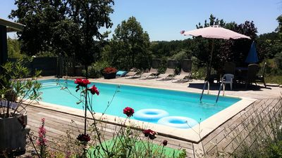 Photo for Quiet large detached holiday home for 6 people with swimming pool