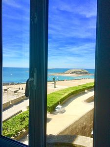 Photo for Saint-Malo intra-muros exceptional sea view