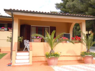 Photo for Nice house with garden in Procchio