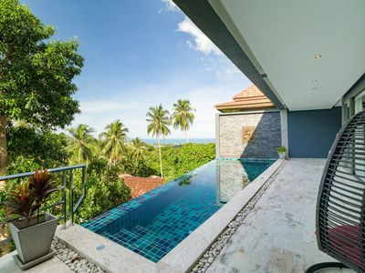 Photo for 3 Bedroom Sea View Villa 2 - Chaweng
