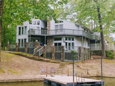 Photo for SPACIOUS 6 BEDROOM 3.5 BATH HOME  ON LAKE DESOTO WITH BOAT DOCK - $405 PER NIGHT - NON SMOKING