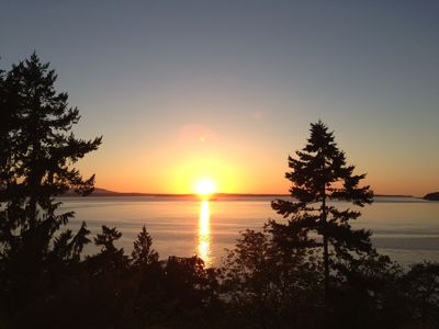 Photo for Sweeping Sunset Getaway - A Million Dollar View On Whidbey Island's Mutiny Bay!