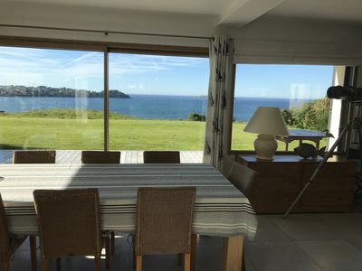 Photo for House seaside located Côte de Granit Rose Panoramic panoramic view