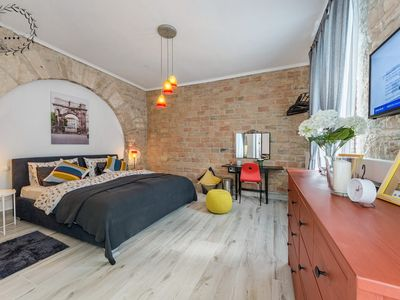 Photo for Room in a central location with air conditioning