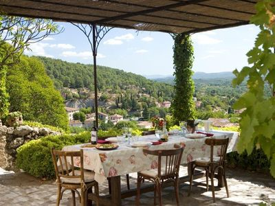 Photo for The dream of Provence in 1700th with beautiful view