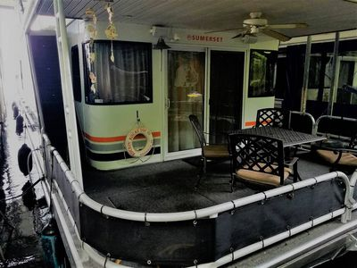 Photo for Immaculate 70' Houseboat on secluded TN River waiting for your next getaway!