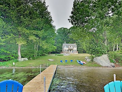 Photo for Private Beach & Dock! Waterfront Home on Highland Lake w/ Provided Kayaks