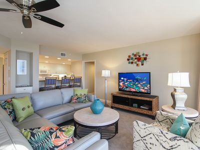 Photo for 3BR/2BA Unique Beachfront Condo with Stunning Beach and Bay Views