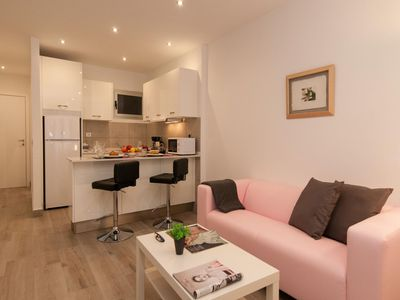 Photo for Las Palmas Cosy Studio apartment in Gran Canaria with WiFi & lift.